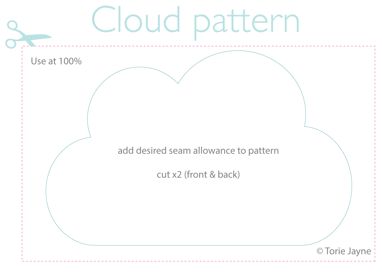 Cloud Cushion Pattern