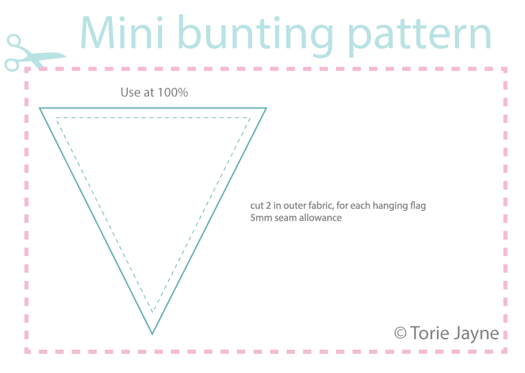 Free Able Mini Bunting Pattern