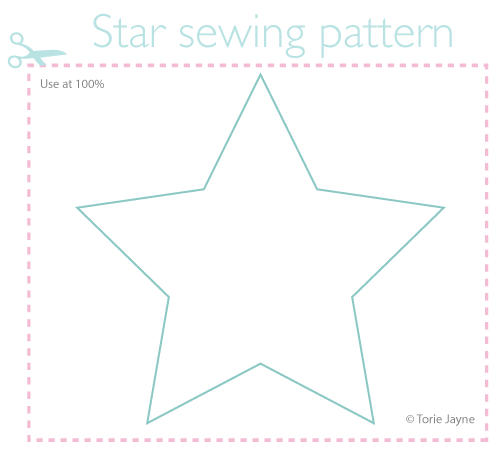 star sewing pattern