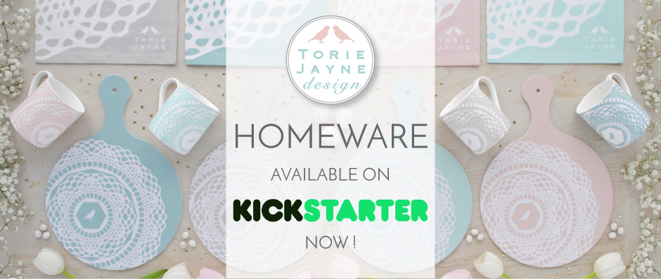 Torie Jayne Design launches on Kickstarter